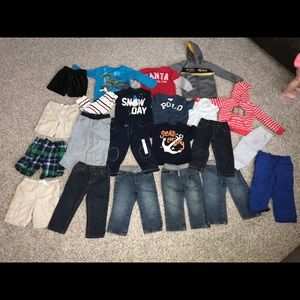 18-24 months boys mixed name brand lot